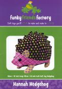 Hannah Hedgehog sewing pattern Funky Friends Factory