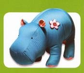 Heather Hippo sewing pattern Funky Friends Factory 2