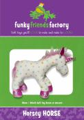 Horsey Horse sewing pattern Funky Friends Factory