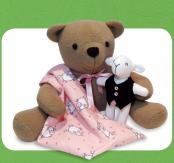 INVENTORY REDUCTION...Izzy Insomniac Bear sewing pattern Funky Friends Factory 2