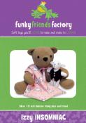 Izzy Insomniac Bear sewing pattern Funky Friends Factory