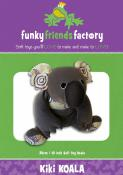 Kiki Koala sewing pattern Funky Friends Factory