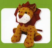 Larry Lion sewing pattern Funky Friends Factory 3