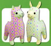 Lloyd Llama & Alice Alpaca sewing pattern Funky Friends Factory 2