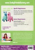 Lloyd Llama & Alice Alpaca sewing pattern Funky Friends Factory 1