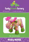 Mickey Moose sewing pattern Funky Friends Factory