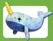Nate The Narwhal sewing pattern Funky Friends Factory 2