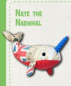 Nate The Narwhal sewing pattern Funky Friends Factory 3