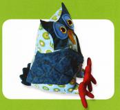 Ollie the Laid Back Owl sewing pattern Funky Friends Factory 3