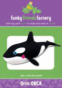 Oreo Orca sewing pattern Funky Friends Factory