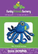 Ozzie Octopus sewing pattern Funky Friends Factory