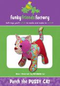 Patch the Pussy Cat sewing pattern Funky Friends Factory