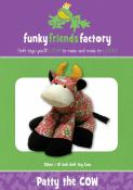 Patty the Cow sewing pattern Funky Friends Factory