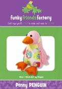 Penny Penguin sewing pattern Funky Friends Factory