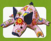 Petunia Piglet sewing pattern Funky Friends Factory 2