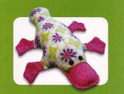 Plattie Platypus sewing pattern Funky Friends Factory 2