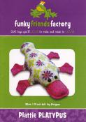 Plattie Platypus sewing pattern Funky Friends Factory