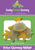 Prince Charming Froggy sewing pattern Funky Friends Factory