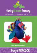 Punju Peacock sewing pattern Funky Friends Factory
