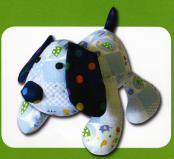 Puppy Dog Pete sewing pattern Funky Friends Factory 2