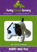 Puppy Dog Pete sewing pattern Funky Friends Factory