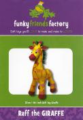 Raff the Giraffe sewing pattern Funky Friends Factory