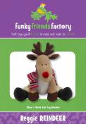 Reggie Reindeer sewing pattern Funky Friends Factory