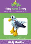 Sandy Seagull sewing pattern Funky Friends Factory