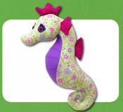 Sparkles Seahorse sewing pattern Funky Friends Factory 2