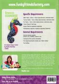 Sparkles Seahorse sewing pattern Funky Friends Factory 1