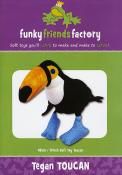 Tegan Toucan sewing pattern Funky Friends Factory