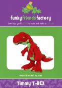 Timmy T-Rex sewing pattern Funky Friends Factory