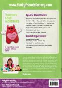 Valentine's Love Monsters sewing pattern Funky Friends Factory 1