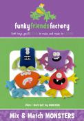 Mix and Match Monsters sewing pattern Funky Friends Factory