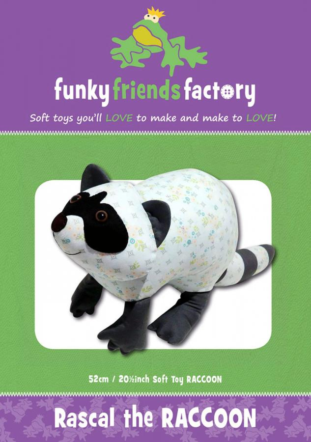 Rascal-Raccoon-sewing-pattern-Funky-Friends-Factory-front