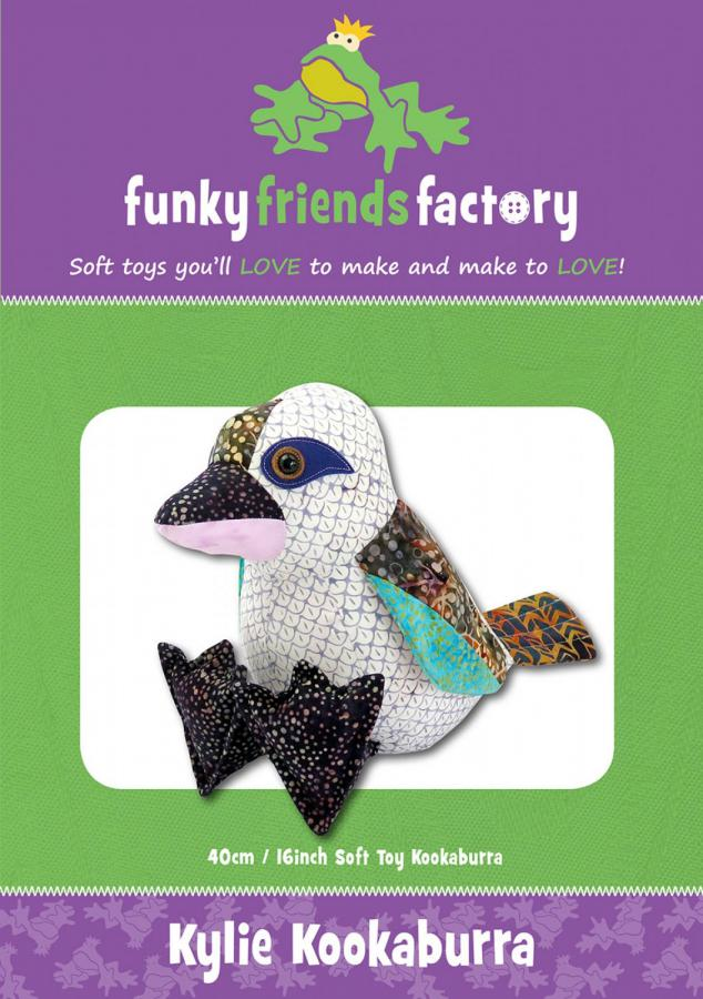Kylie Kookaburra sewing pattern Funky Friends Factory