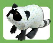 Rascal the Raccoon sewing pattern Funky Friends Factory 2