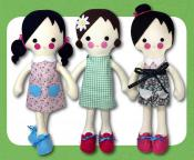 Daisy Dress Up Doll sewing pattern Funky Friends Factory 2