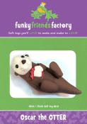 INVENTORY REDUCTION...Oscar the Otter sewing pattern from Funky Friends Factory