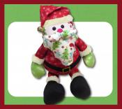 All I Want For Christmas Santa soft toy sewing pattern Funky Friends Factory 2