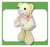 Keep Me Keepsake Bear soft toy sewing pattern Funky Friends Factory 2