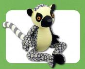 Licorice The Lemur sewing pattern Funky Friends Factory 2