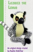 Licorice The Lemur sewing pattern Funky Friends Factory 3