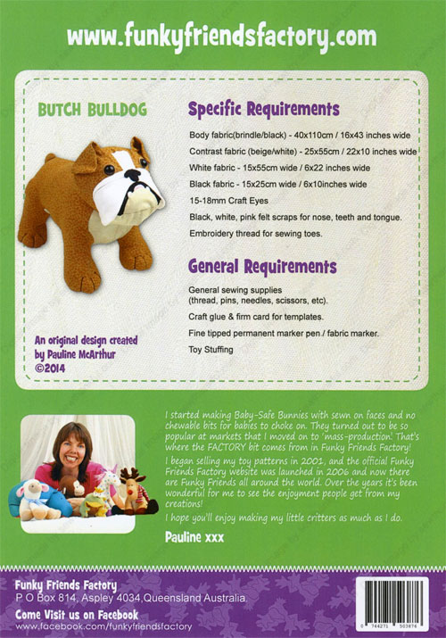 Butch-and-Bella-Bulldogs-sewing-pattern-Funky-Friends-Factory-back