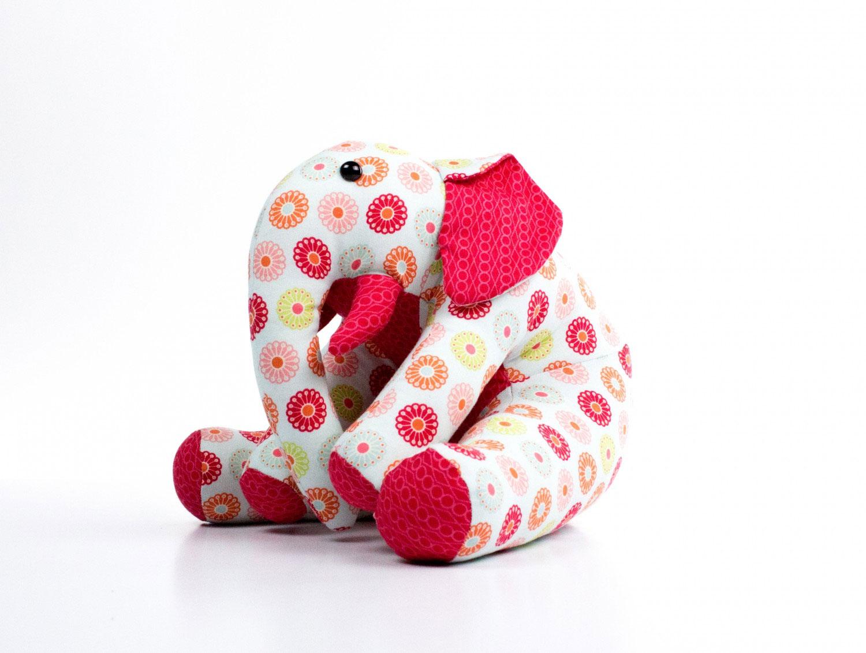 Ellie Elephant sewing pattern Funky Friends Factory