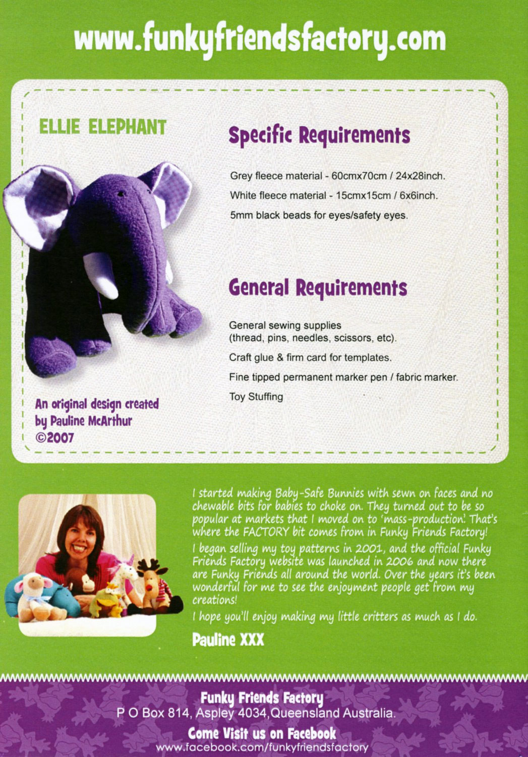 Ellie-Elephant-sewing-pattern-Funky-Friends-Factory-back
