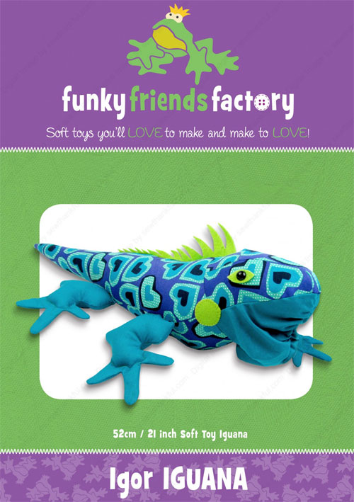 Igor-Iguana-sewing-pattern-Funky-Friends-Factory-front