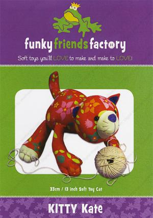 Kitty Kate sewing pattern Funky Friends Factory