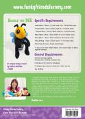 Bumble the Bee sewing pattern Funky Friends Factory 1