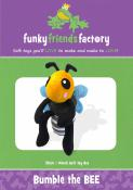 Bumble the Bee sewing pattern Funky Friends Factory